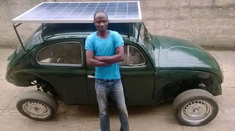 Obafemi Awolowo University Student Builds a Solar-Powered Car - TechCity