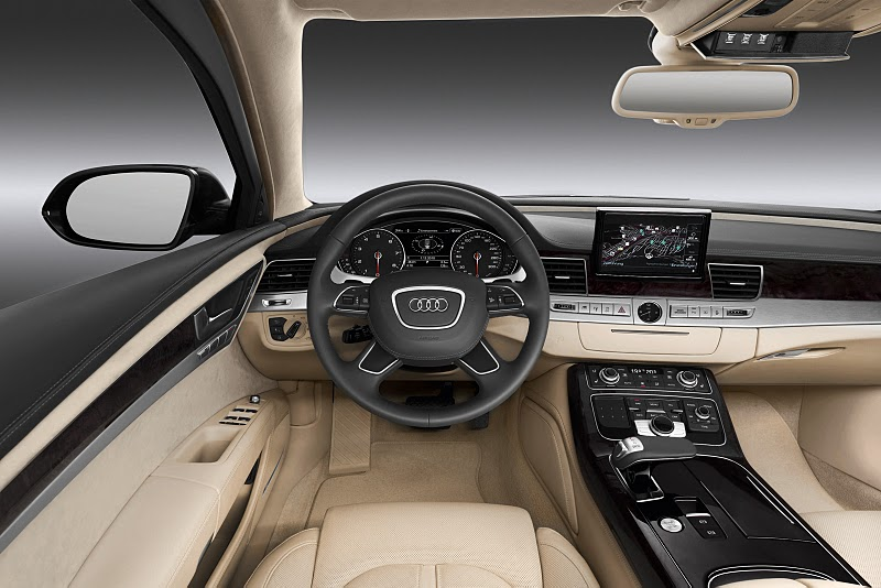 ... and exterior the 2012 audi a8 is a worthy car to carry the audi flag