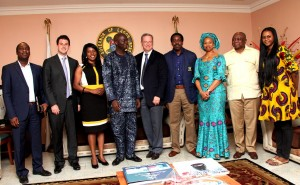 Google Team and Lagos state Govt officials