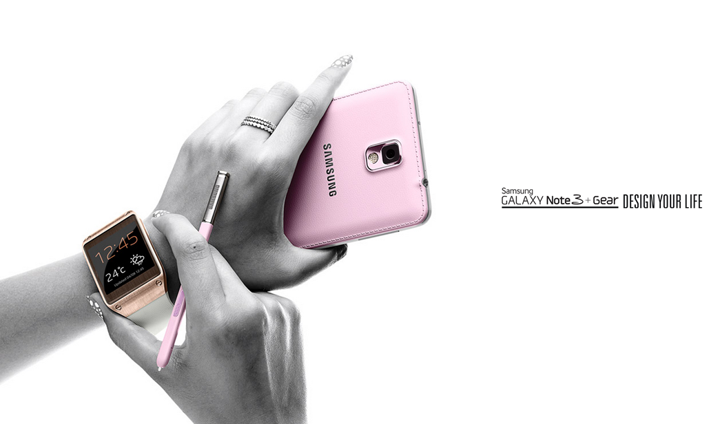 Samsung Galaxy Gear and Note 3