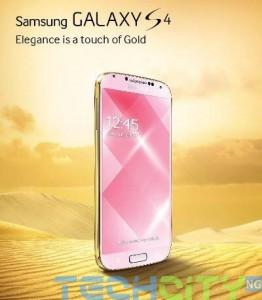 golden galaxy s4