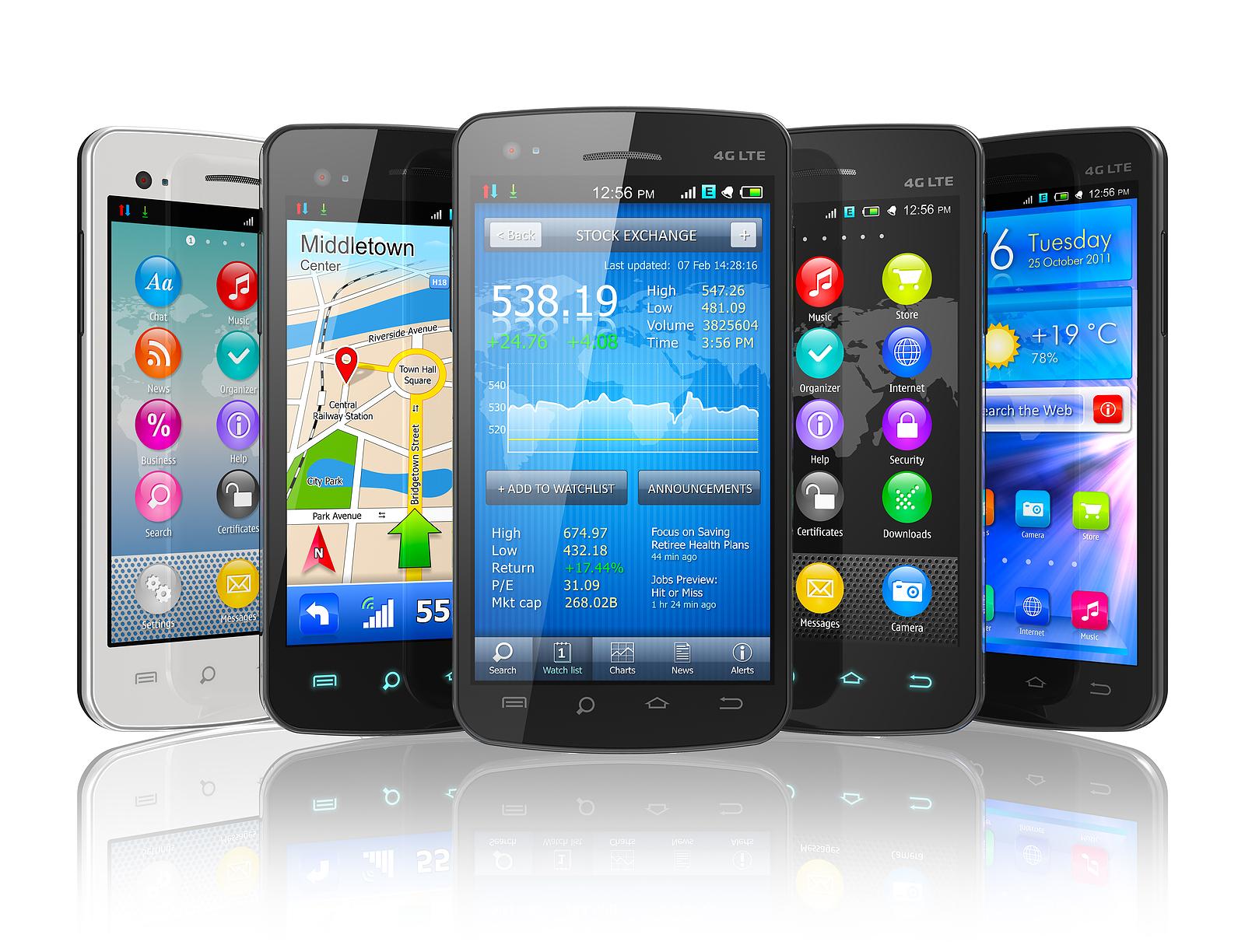 popularity of smartphones
