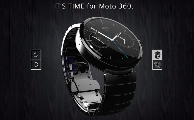 Bike 360 and LG G Watch, The First Smartwatches with Android Wear