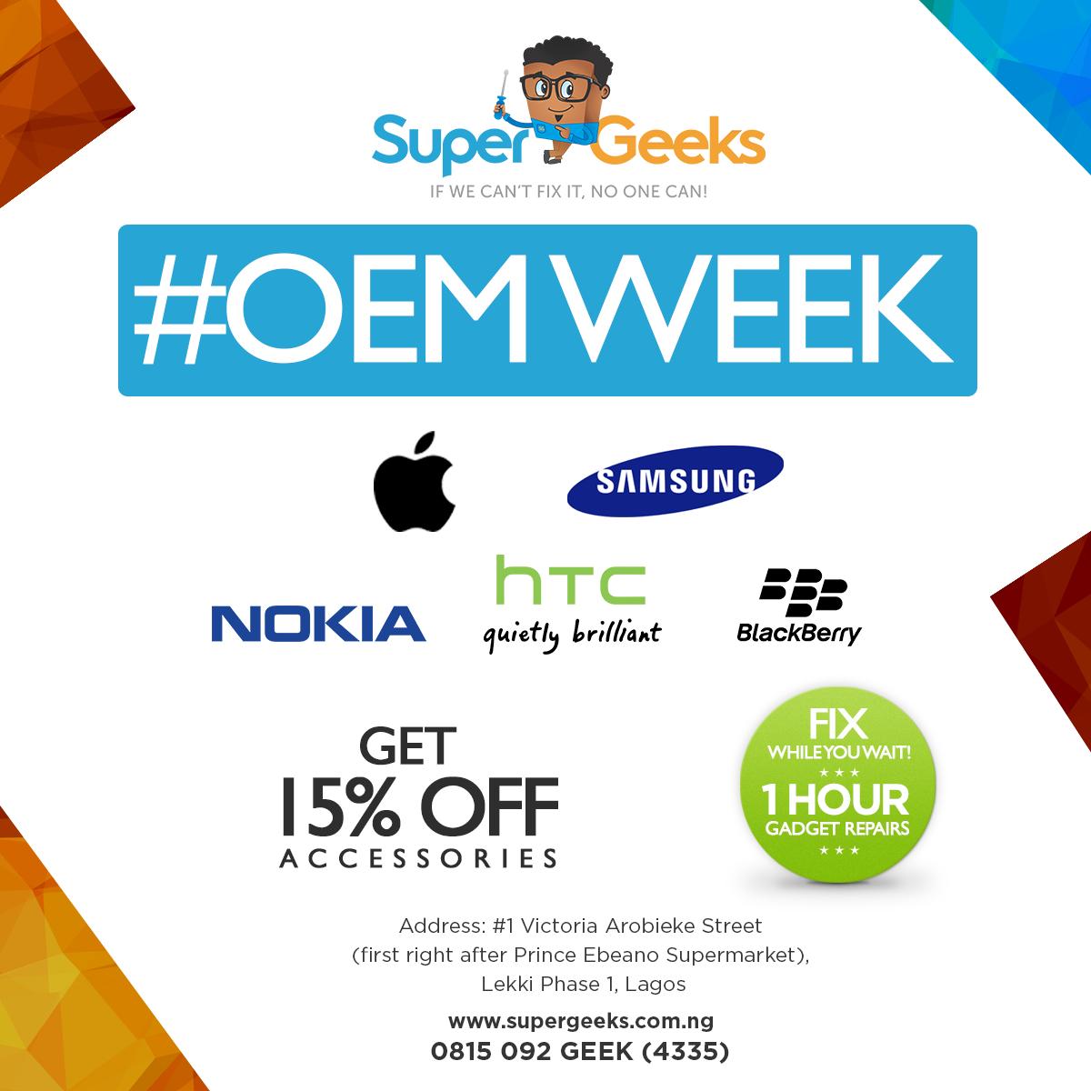 OEM Week, Supergeeks