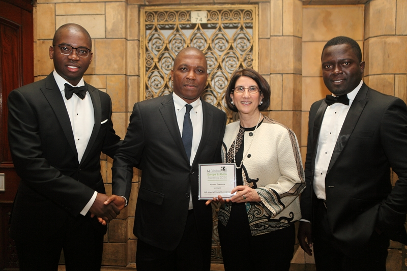 Etisalat / IHS Wins 'African Telecoms Deal of the Year 2014'' At IJ Global Awards