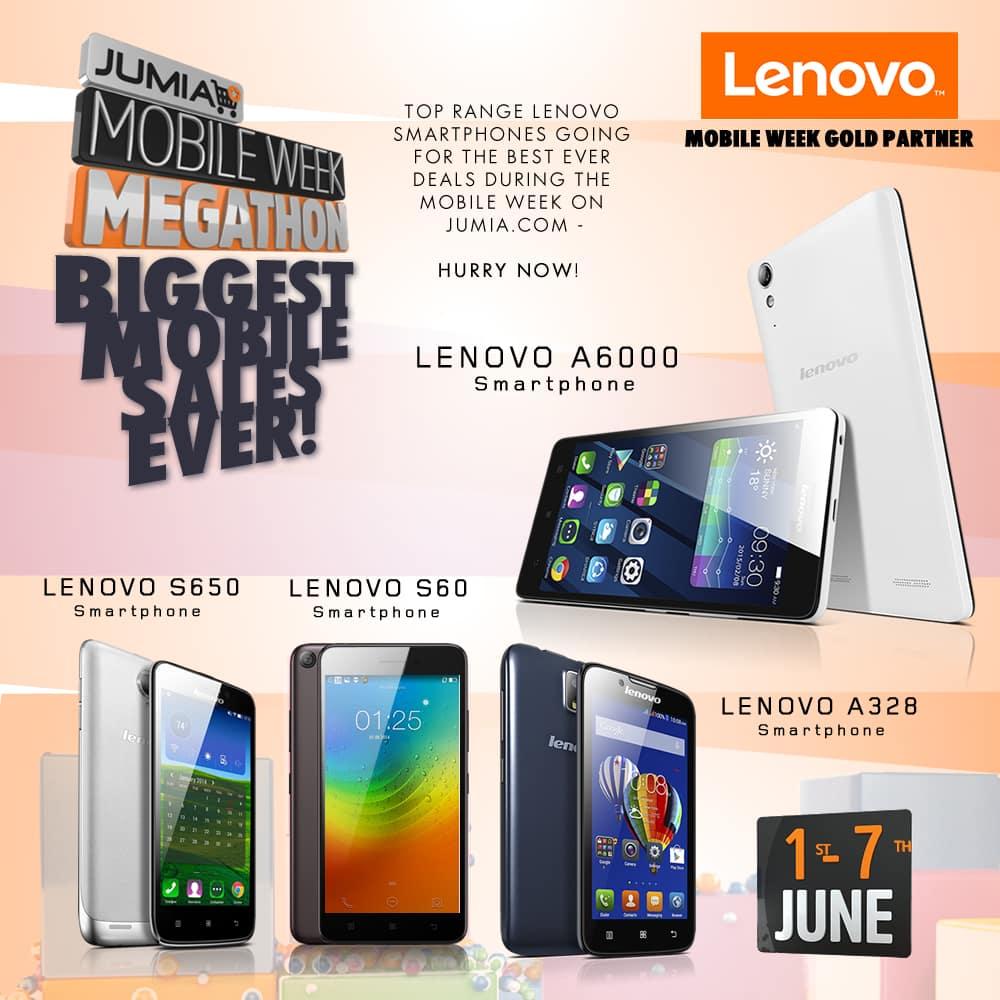 Lenovo: Gold Partner at the Jumia Mobile Week Megathon