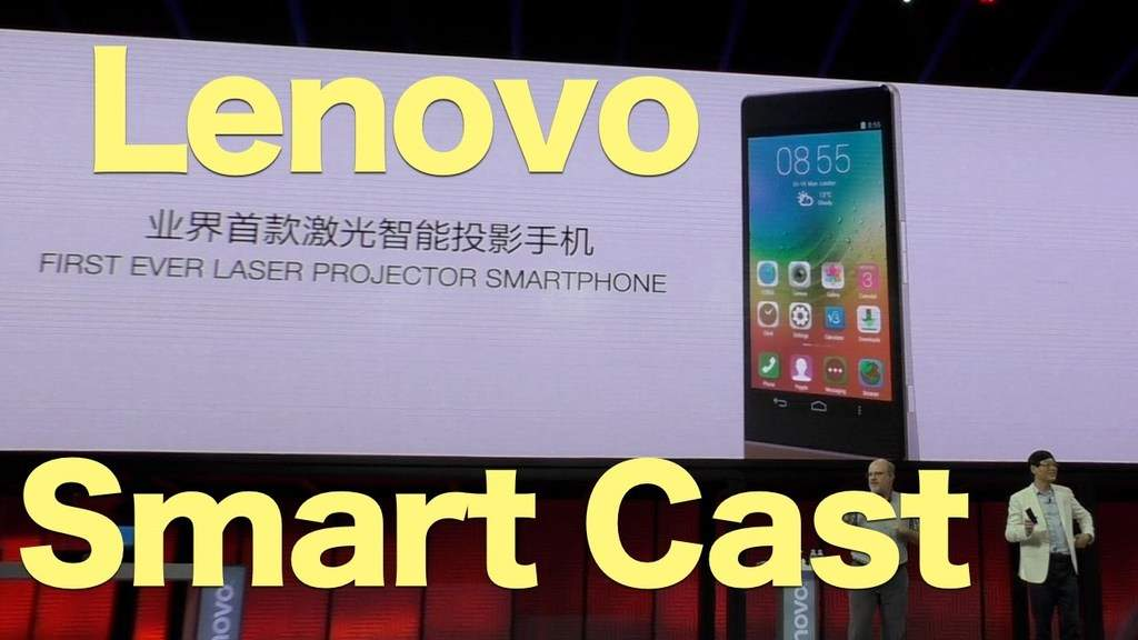 Lenovo launches first projector smartphone: Smart cast