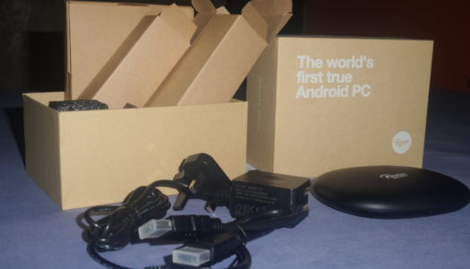 Unboxing the world's first true Android PC – Remix Mini