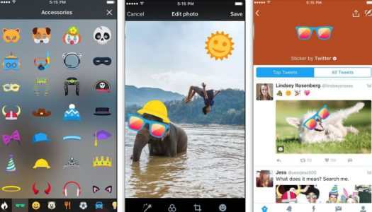 Twitter introduces Snapchat-like  Stickers  that  act like hashtags
