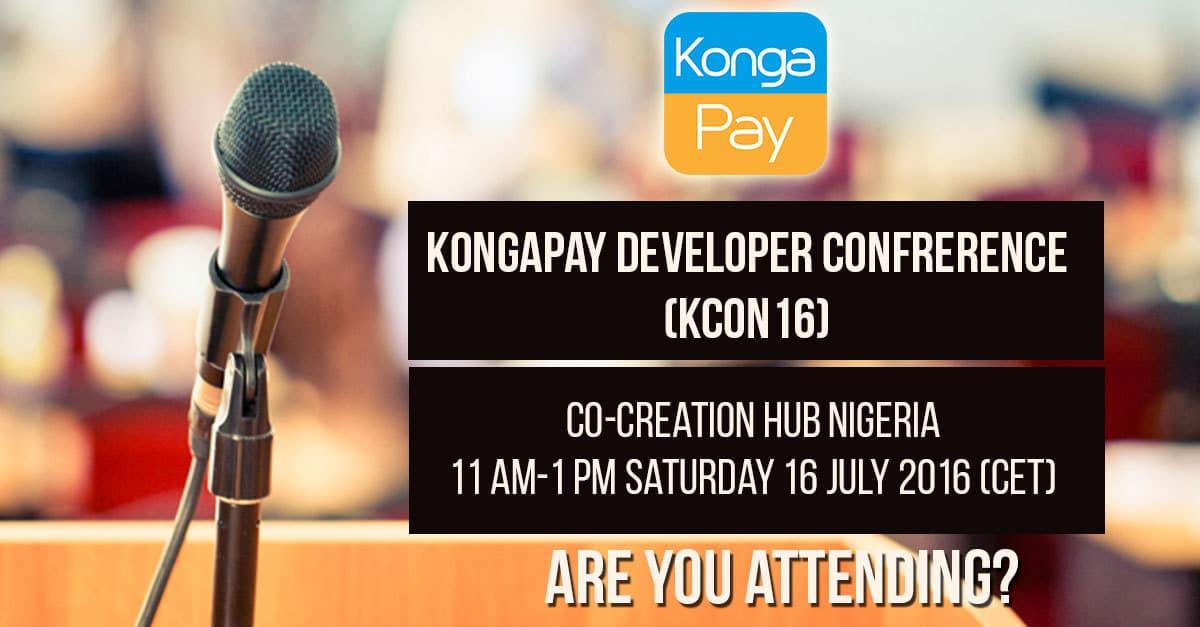 Konga developer conference