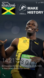 Usein Bolt wall paper