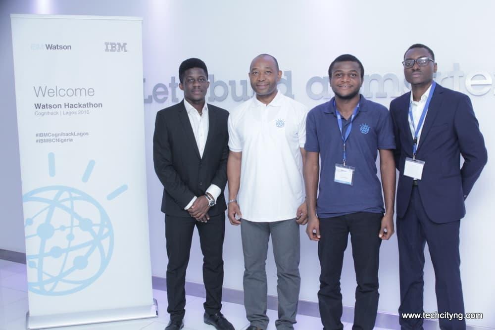 CogniHack Lagos 2016, CogniBank, IBM