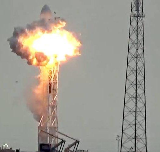 spacex_fire_1, Facebook Satelite