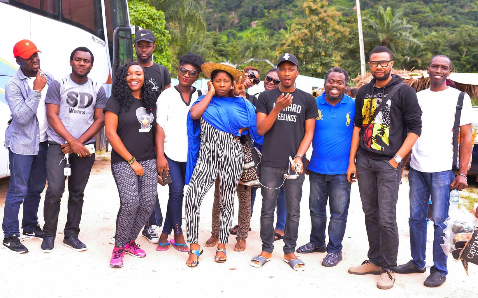 We touched down Erin-Ijesa waterfalls, Osun state like...