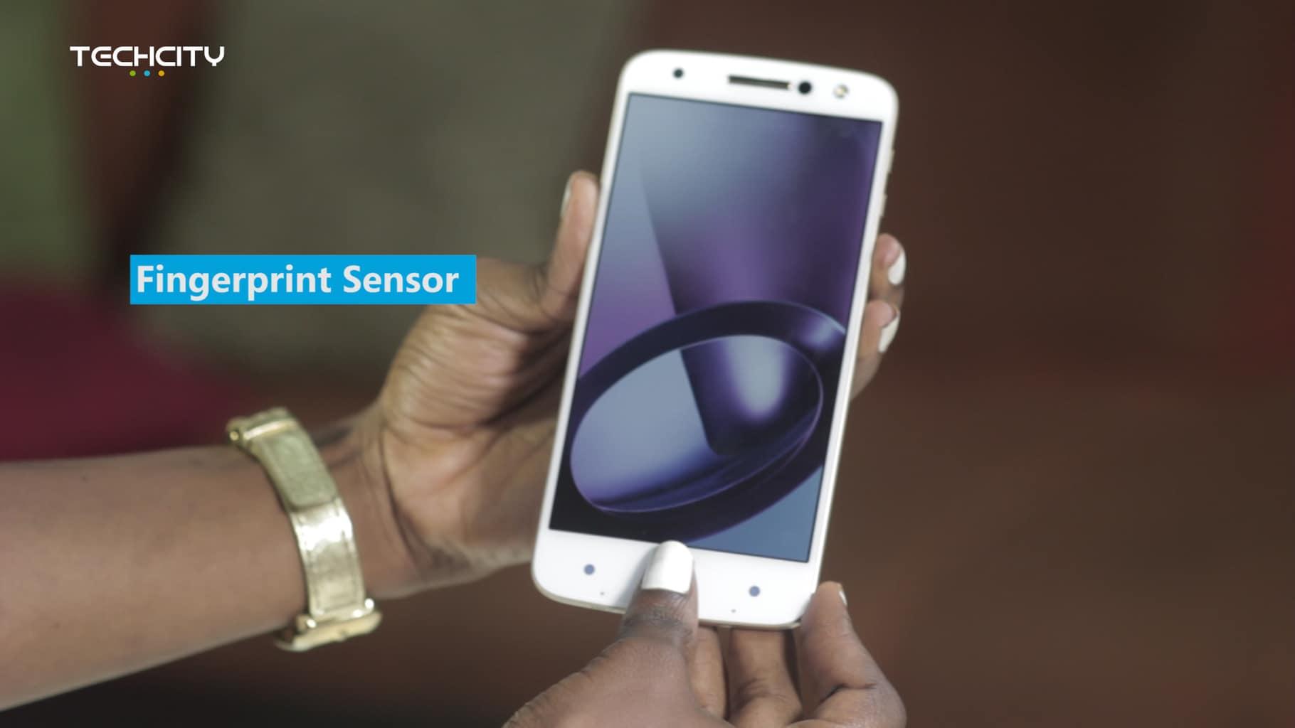 Moto Z, Finger Print Sensor