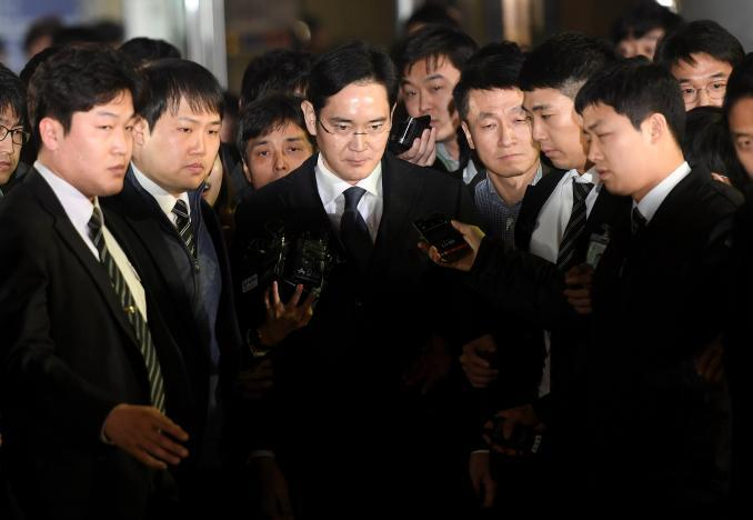 Samsung chief, Lee Jae-yong arrested on bribery charges