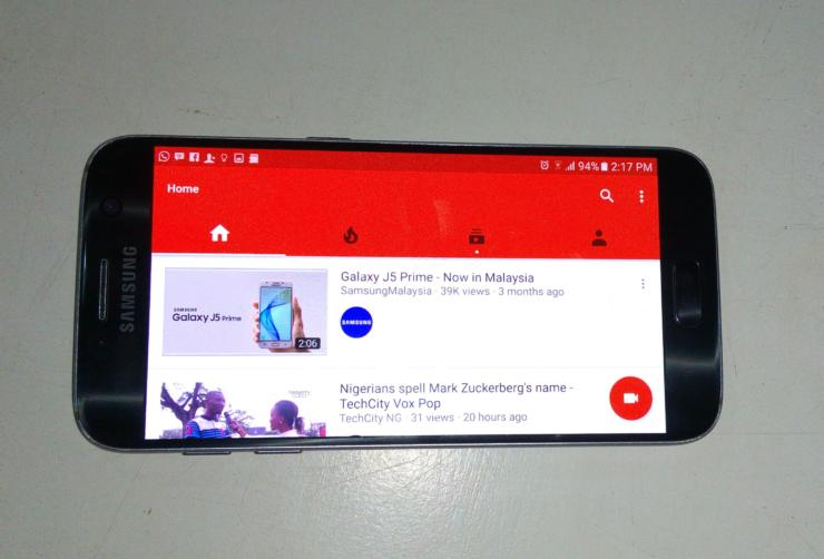 Youtube, mobile, live streaming