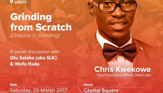 Startup Grind Lagos hosts Chris Kwekowe at her March Meetup