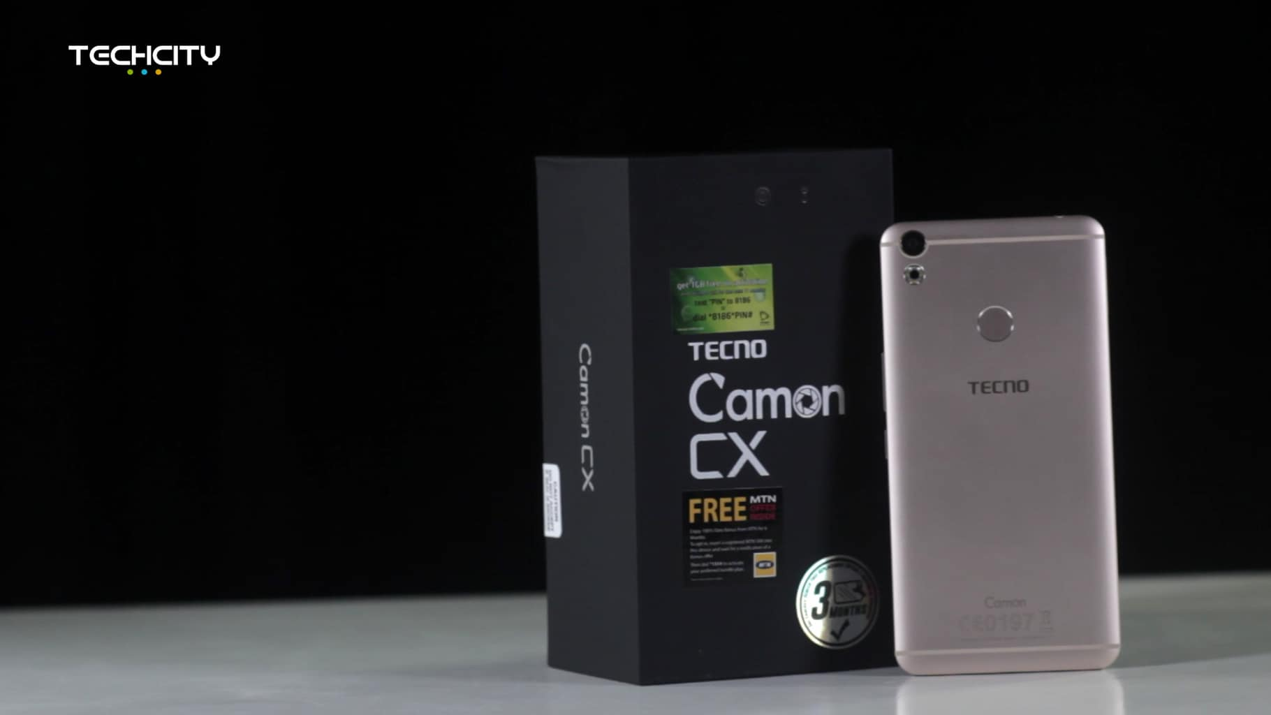 TECNO Camon CX unboxing and first impression - TechCity