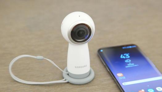 Samsung's New Gear 360 Shoots 4K Video
