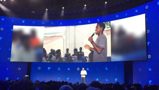 Andela Nigeria Developer, Innocent Amadi gets global recognition at Facebook's Developer Conference
