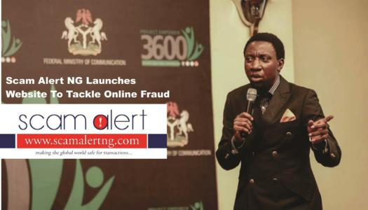 SCAM ALERT NG Launches Website to Tackle online Fraud