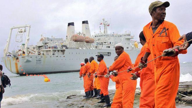 fibre optic, Somalia