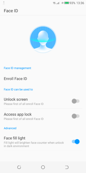 How to set up face ID and lock app on Camon X Pro - TechCity